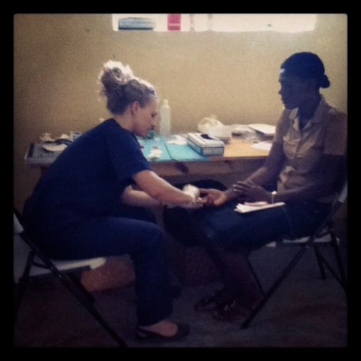 HIV Rapid Testing at the Family Health Ministries Clinic in Terre Noire, Site Soley, Port-au-Prince